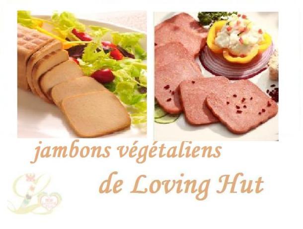Jambon végétal (végétalien)