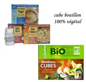 Cubes végétaux