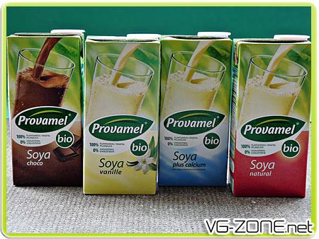 laits végétaux soya-provamel