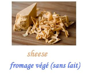 fromage végétalien : vege sheese
