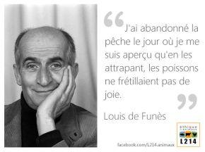 Louis de Funès : j'ai abandonné la pêche le jouroù…
