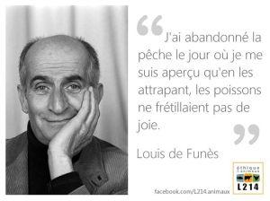 Louis de Funès - j'ai abandonné la pêche